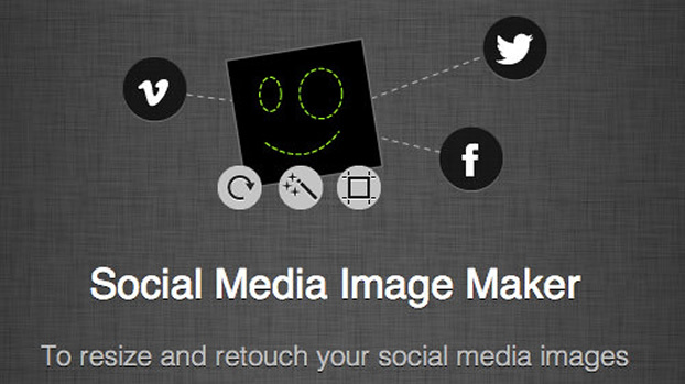 Social Media Image Maker - Professionelle Bilder für Facebook und Co