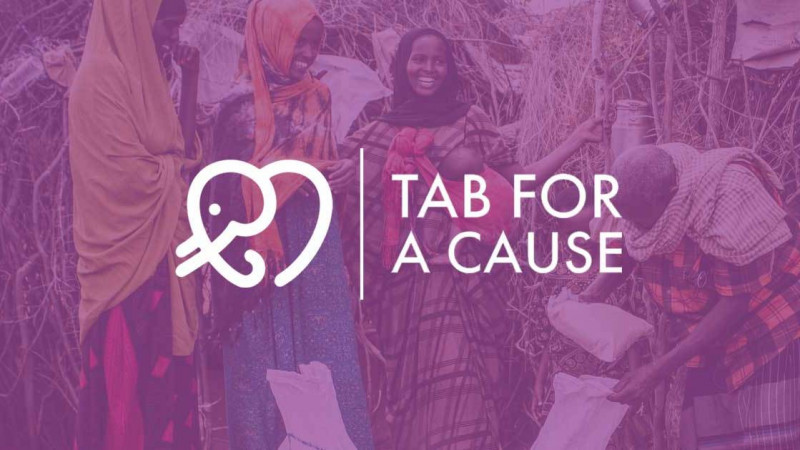 Tab for a Cause:  via Google Chrome Geld spenden